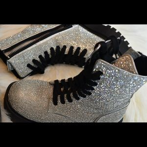 Dolls kill bling boots 💎